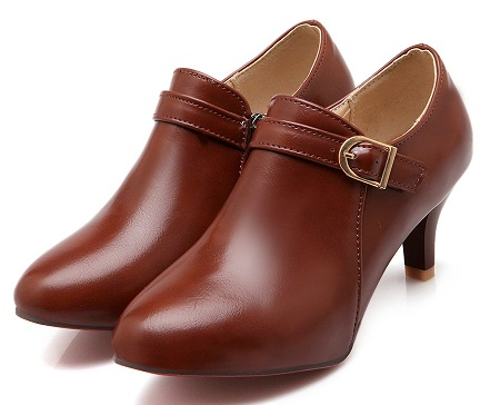 Deep mouth shoes for women