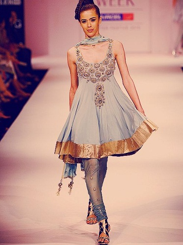 Designer churidar salwar