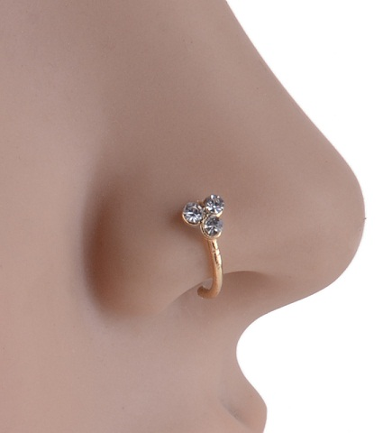 Diamond Nose Clip