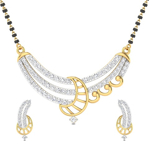 Diamond Studded Mangalsutra