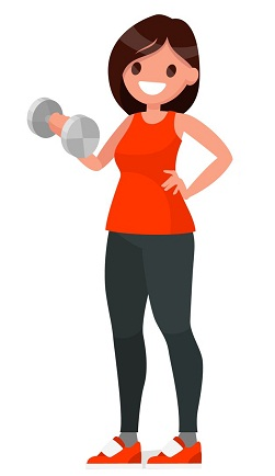 Exercise To Reduce Back Fat Dumb Bells