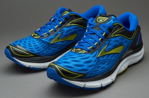 Electric Blue Transcend 3 Men's running Shoes