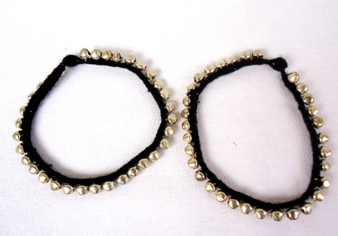 Ethnic Black thread Anklet for women