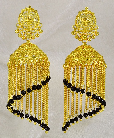 Ethnic Indian Bridal Earrings