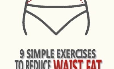 Exercises to Get Rid of Waist Fat