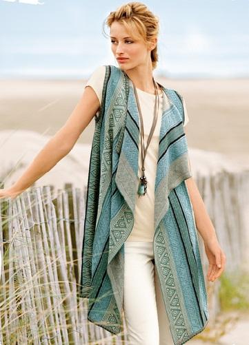Fancy Cotton Vest for women