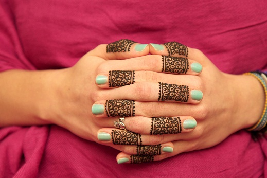 Finger Band Mehandi