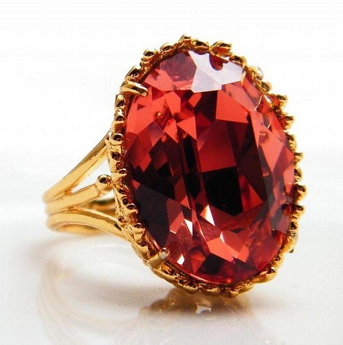 Fire Red Topaz Birthstone