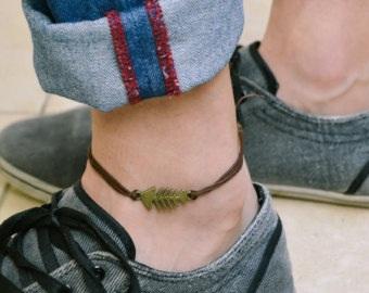 Fishbone Anklets