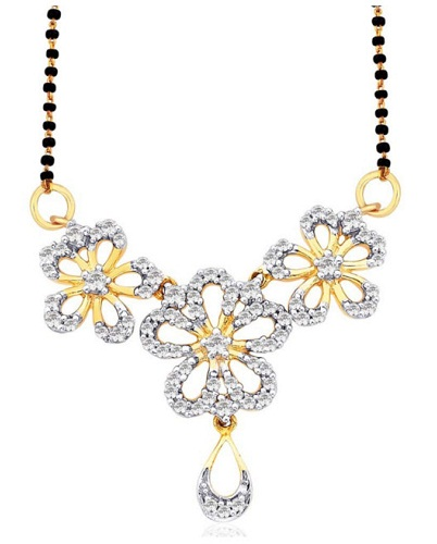 Flower Long mangalsutra