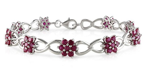 rough bracelet reeves products ruby