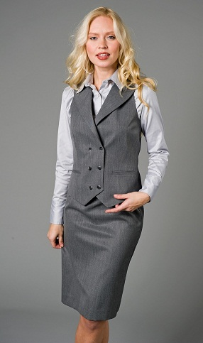 Formal wear Grey Vest