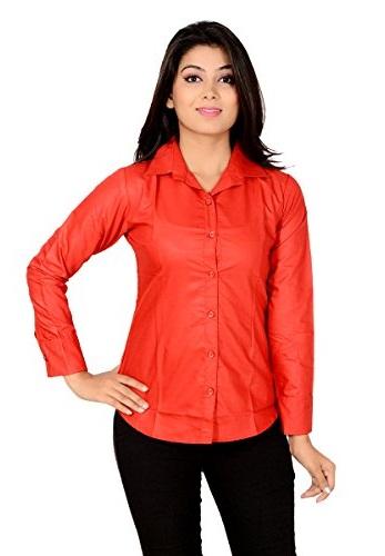 Full Sleeve Red Shirt