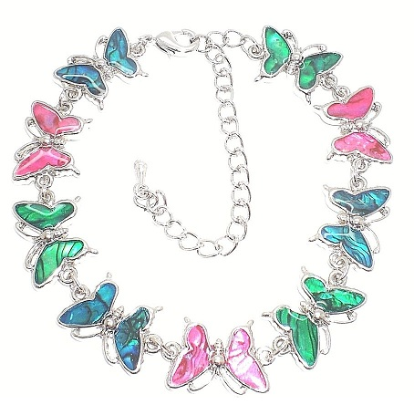 Funky Butterfly Anklet for Women