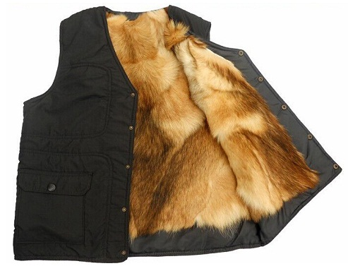 Fur lined Women outdoor Vest