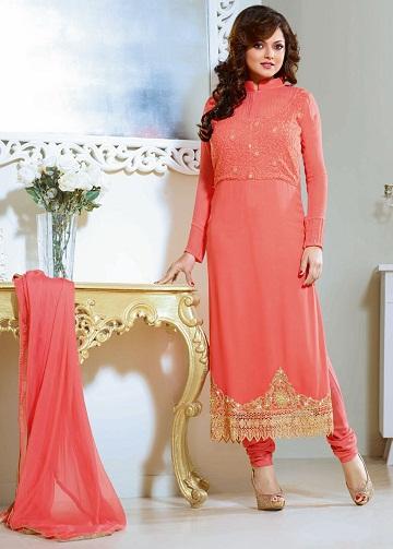 Georgette Fancy Salwar Suit