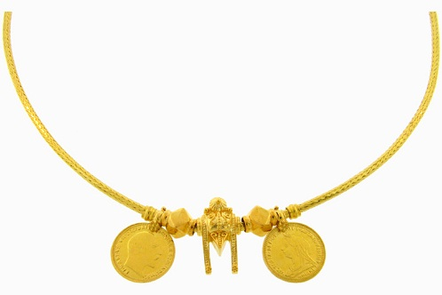 Gold Coined Tamil Mangalsutra8