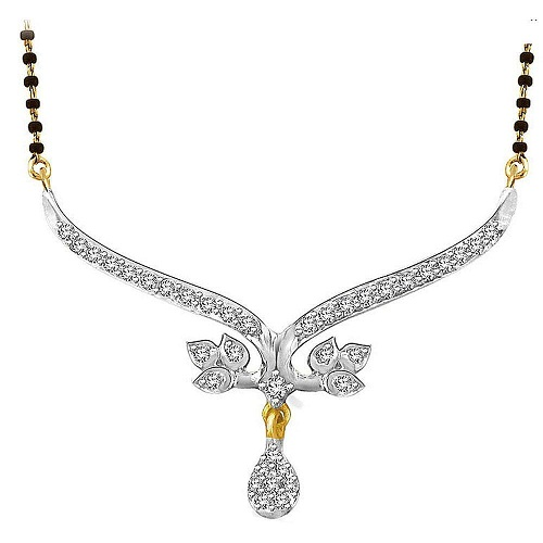 Gold Diamond Gold platted Silver chain