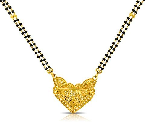 Gold Indian mangalsutra