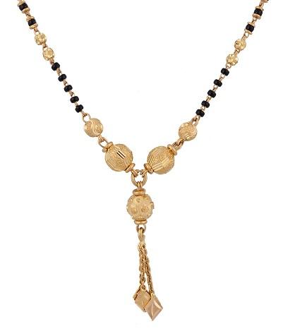 Gold fancy mangalsutra