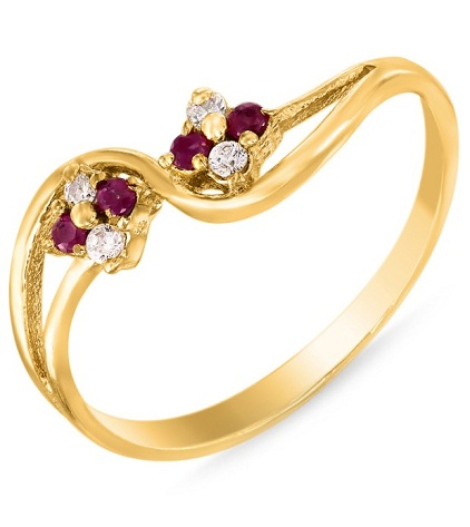 Gold plated Fashion ring