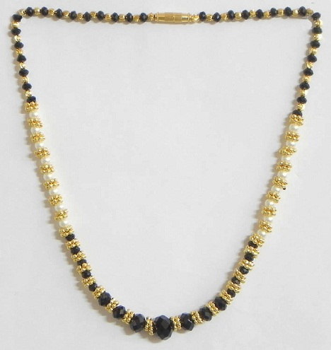 Gold plated mangalsutra chain