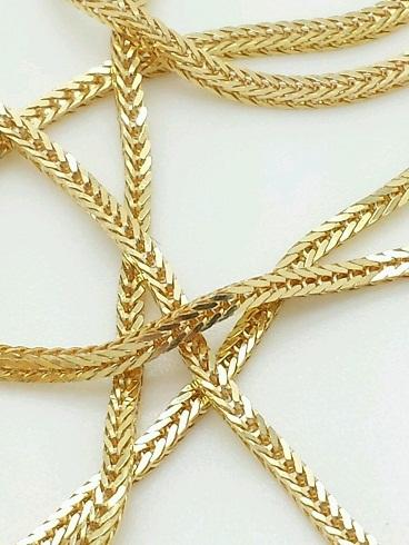 Gold wheat chain