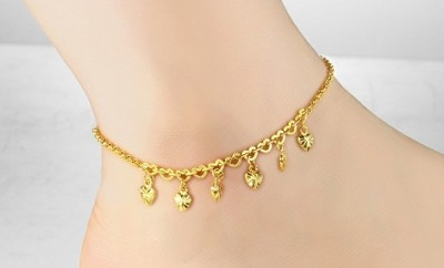 Golden Leg Anklets for Women
