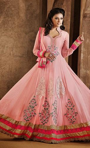 Gown Style floor length Salwar Suit