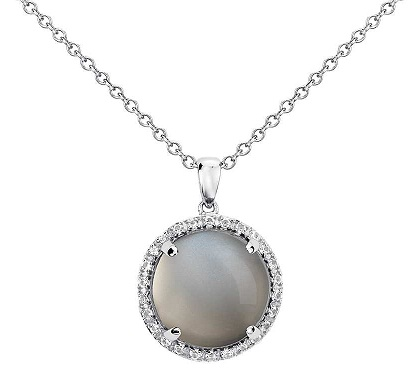 Grey Moonstone pendant