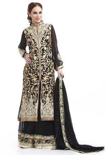 Hand Zari Work Salwar Suit