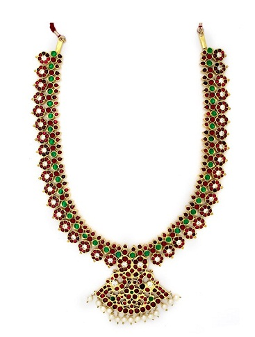 Handcrafted Bharatanatyam Temple Jewellery