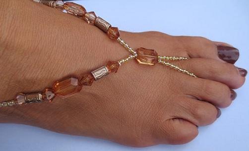 Handmade Beaded Anklets