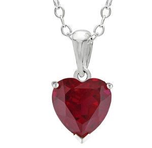 ruby pendant designs