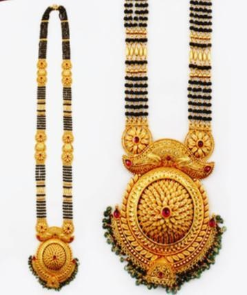 Heavy mangalsutra necklace