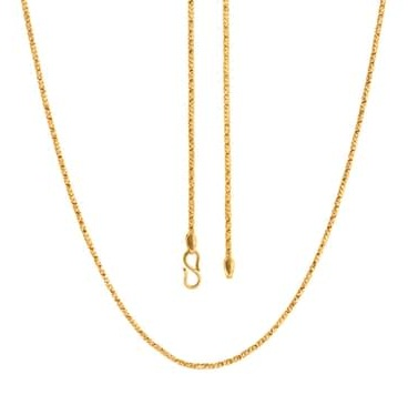 Hex link 18k Gold Chain