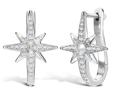 Hoop Star Earrings