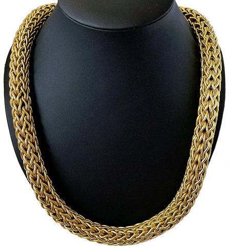 Huge and Heavy 18k Gold Chain