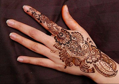 Indexed Arabic Finger Henna