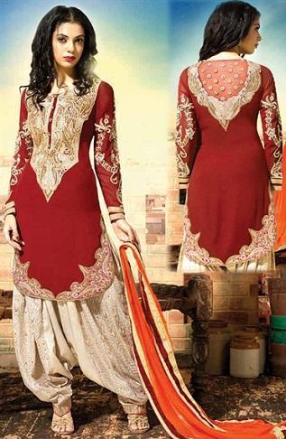 Indian Zari Work Suit4