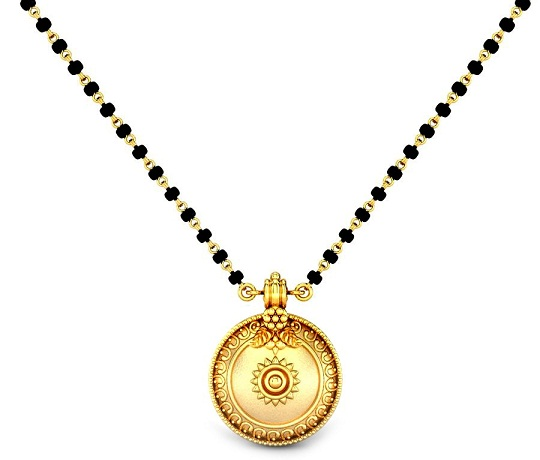 Intricately Carved Tamil Mangalsutra