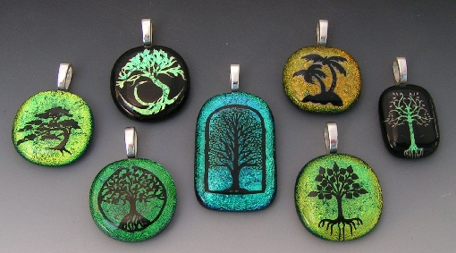 Laser etched custom pendants