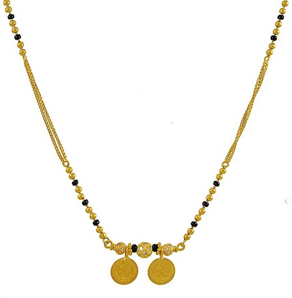 Latest Gold Tamil Mangalsutra