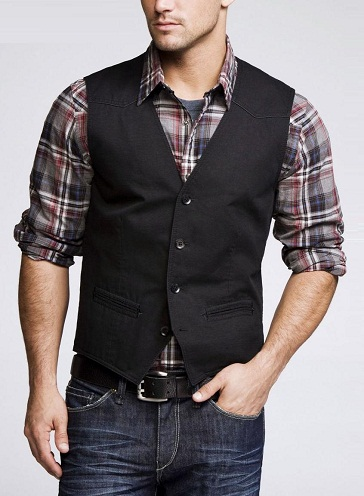 Layered Casual Vest