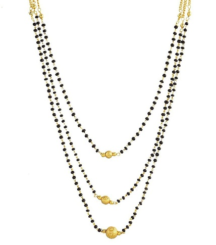 Layered Gold Platted Mangalsutra