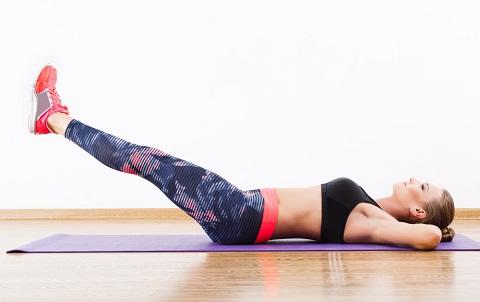 Leg Lifts for reduce waist fat