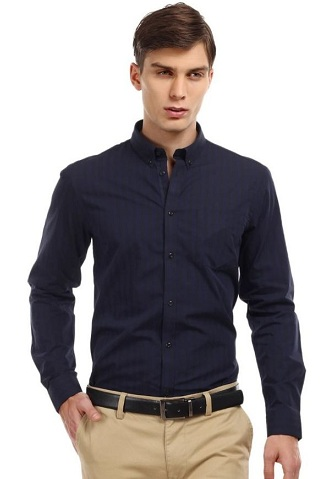 Light lining formal shirt