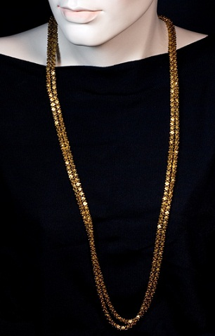 Long 18k Gold Chain