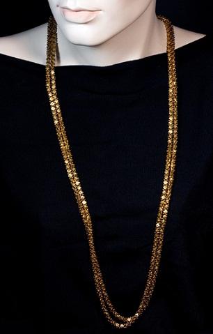 Long 18k Gold Chain