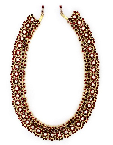 Long Bharatanatyam Temple Jewellery
